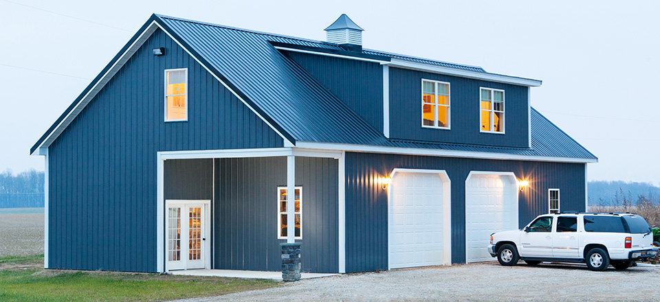 Custom buildings newcore global pvt ltd for Custom barn homes