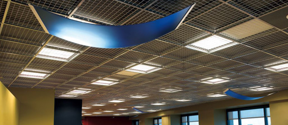 Mesh Ceiling Newcore Global Pvt Ltd