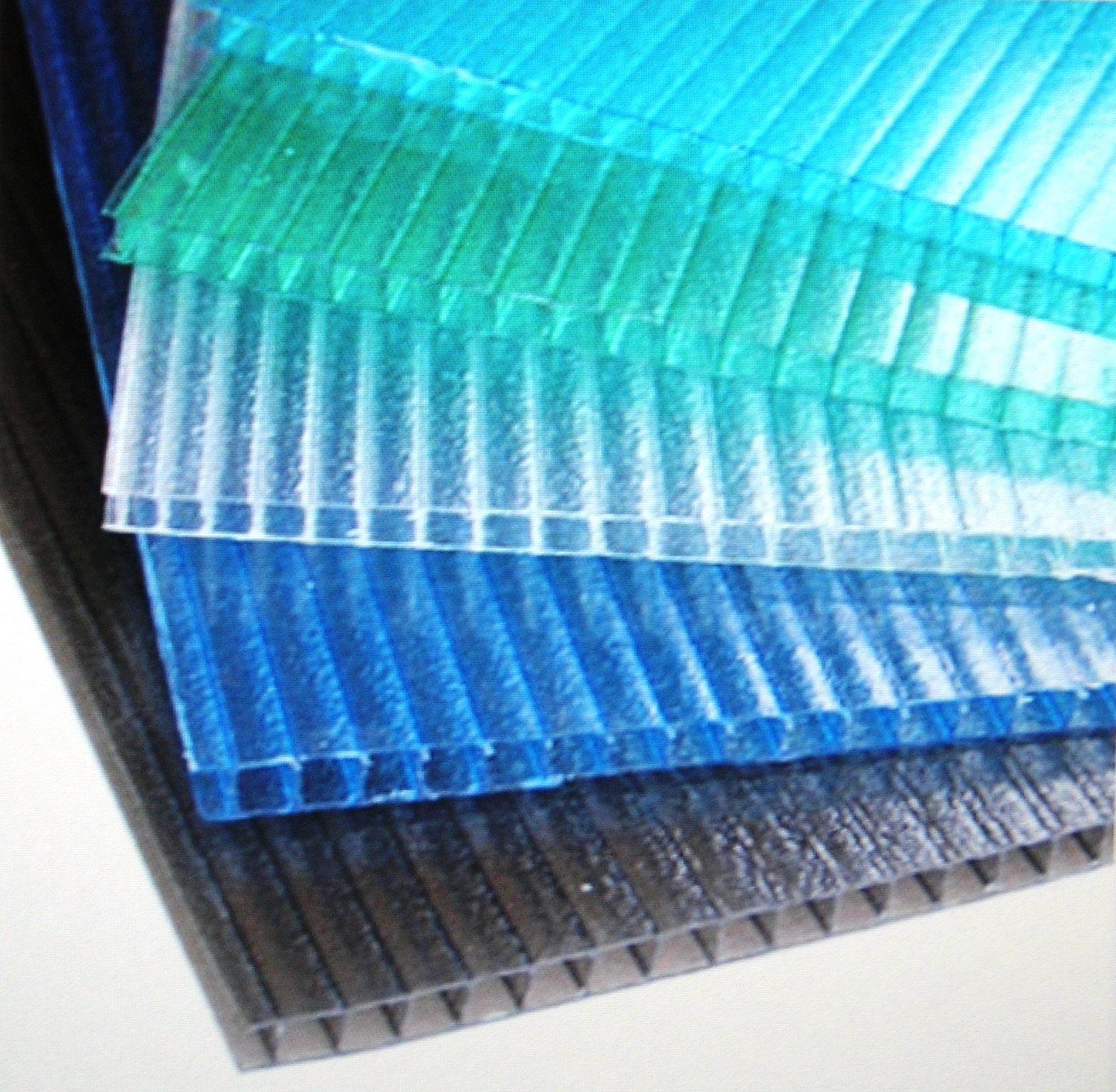 Polycarbonate hollow sheet newcore global pvt ltd for Acrylic windows cost