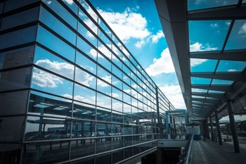 Semi Exposed Framing Glass Curtain Wall Newcore Global