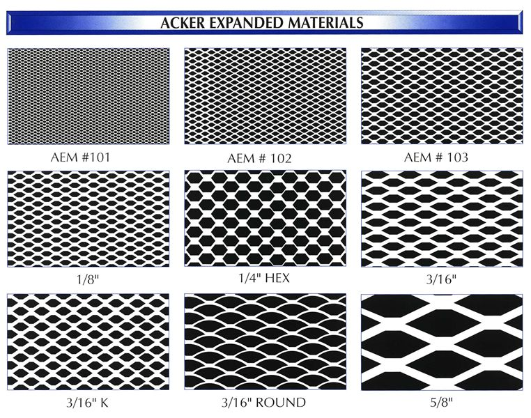 Expanded Metal Mesh : Stainless steel expanded mesh newcore global pvt ltd