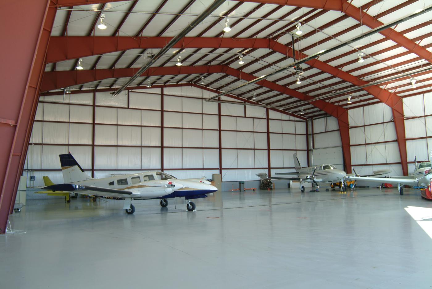 Steel Aviation Hangars Newcore Global Pvt Ltd