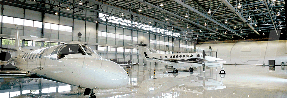 Steel aviation hangars newcore global pvt ltd for Aircraft hanger designs