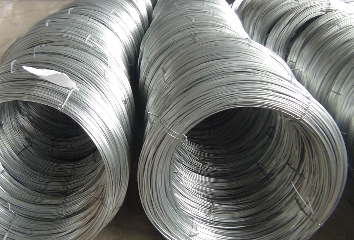 Galvanized Iron Wire : Steel strand wire for acsr stay guy