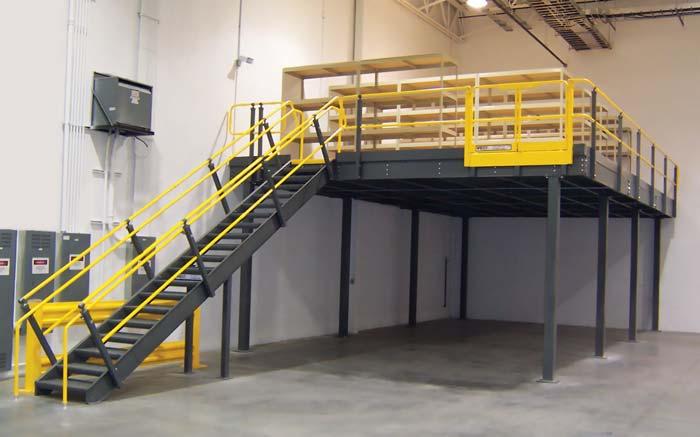 Mezzanine Floor Materials : Steel structure mezzanine newcore global pvt ltd