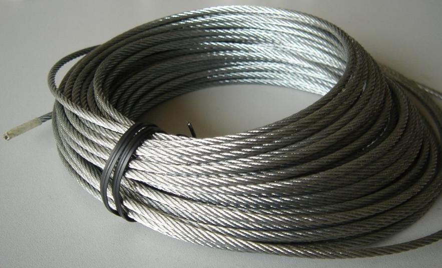 Medium Carbon Steel Wire : Steel wire rope cable newcore global pvt ltd