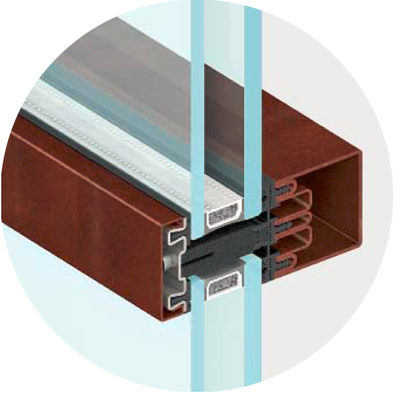 Insulated Glazing Storefront System : Thermal unitized curtain wall system newcore global pvt ltd