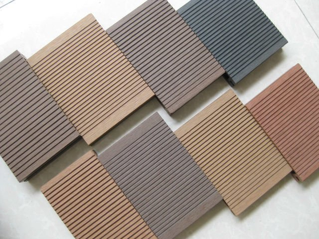 Wood plastic composite deck wpc deck newcore global for Plastic composite decking