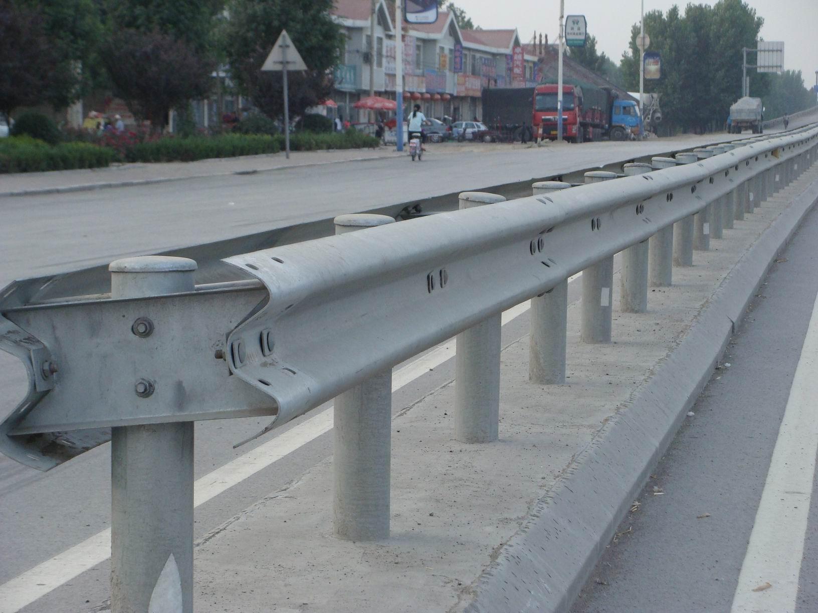 Highway guardrail plate newcore global pvt ltd