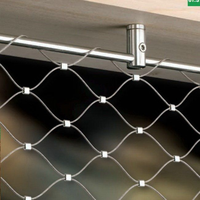 Invisible Protection Fence Stainless Steel Wire Rope
