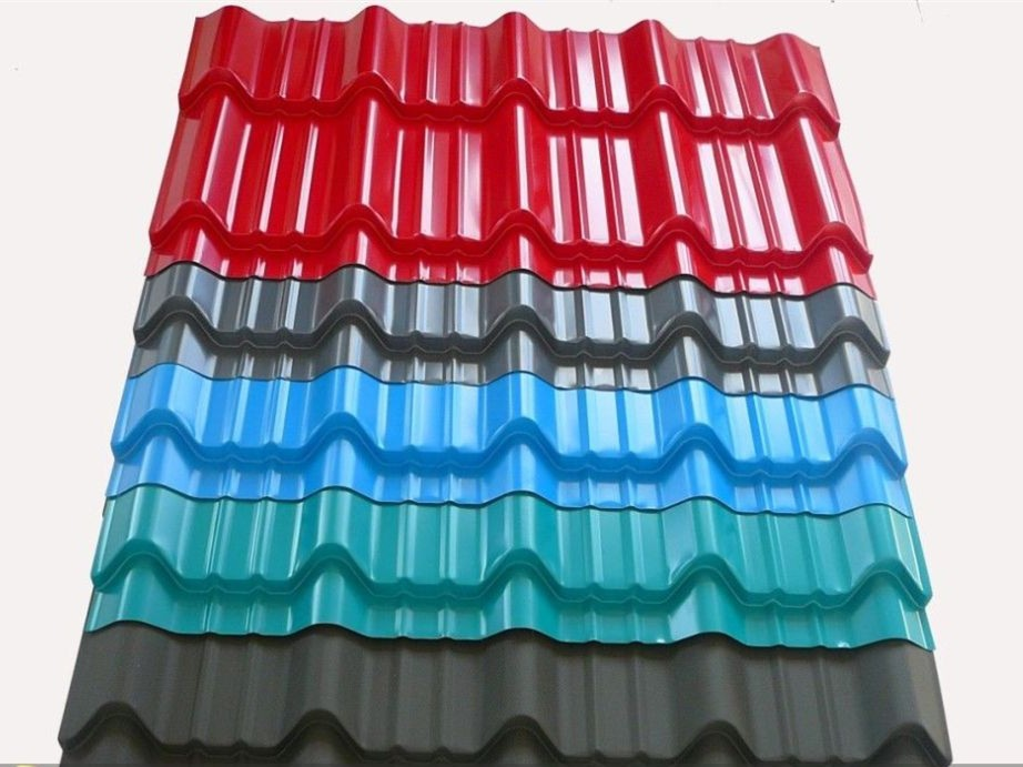 Prepainted Corrugated Galvanized Steel Sheet Roofing