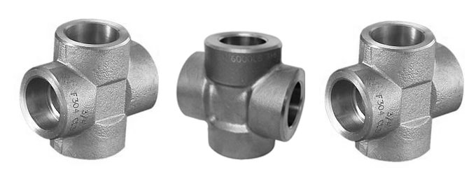 Stainless steel socket weld cross newcore global pvt ltd